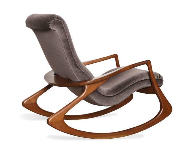 , 'Contour Rocking Chair,' ca. 1975, Donzella LTD