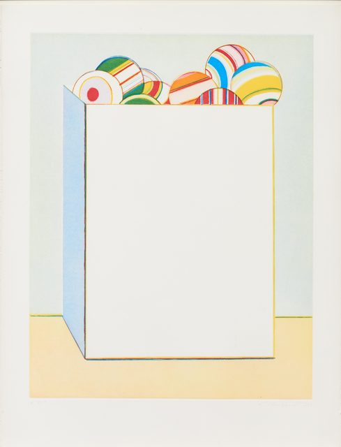 , 'Boxed Balls,' 1979, Paul Thiebaud Gallery