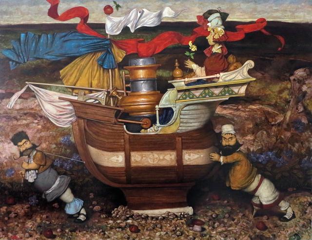 ", '""Sailors"" /""Denizciler"",' 2014, Galeri 77"