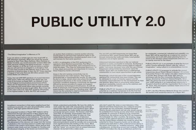 Mary Ellen Carroll, 'Preparations for Public Utility 2.0', 2014, Prospect New Orleans