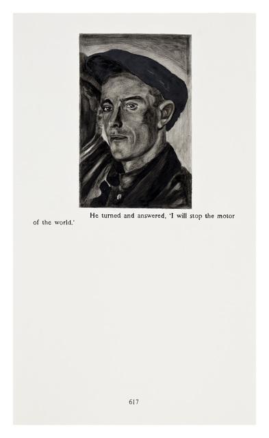 Yevgeniy Fiks, 'Ayn Rand in Illustrations (Atlas Shrugged, page 617)', 2010, Winkleman Gallery