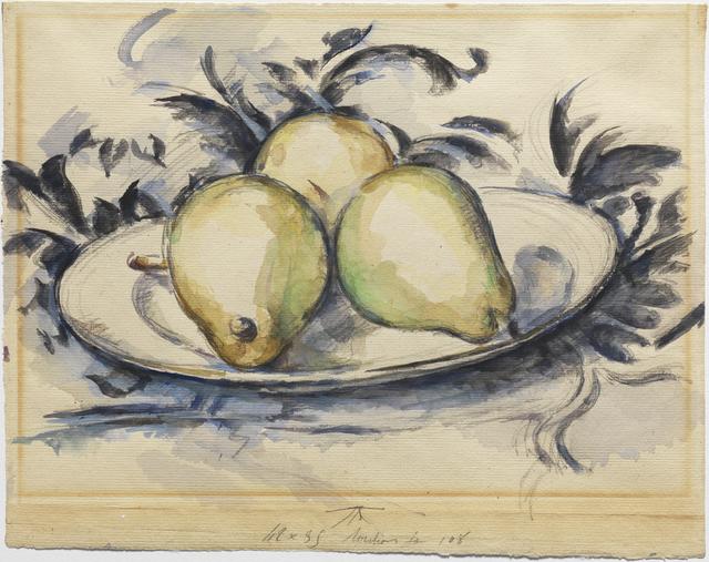 , 'Three Pears,' ca. 1888-90, Princeton University Art Museum