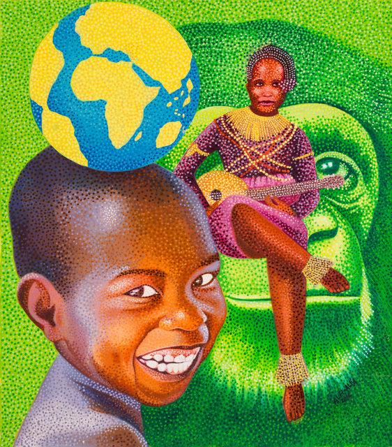 , 'Surmonter le défi du monde,' 2016, Africa Bomoko