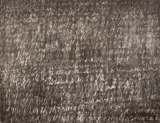 , 'Blackboard,' 1987, Lawrie Shabibi
