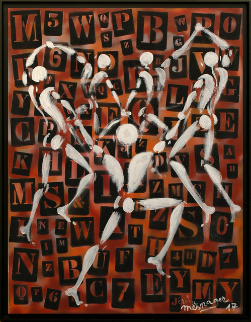 , 'La Ronde Réf. 119,' 2017, Galerie Art Jingle