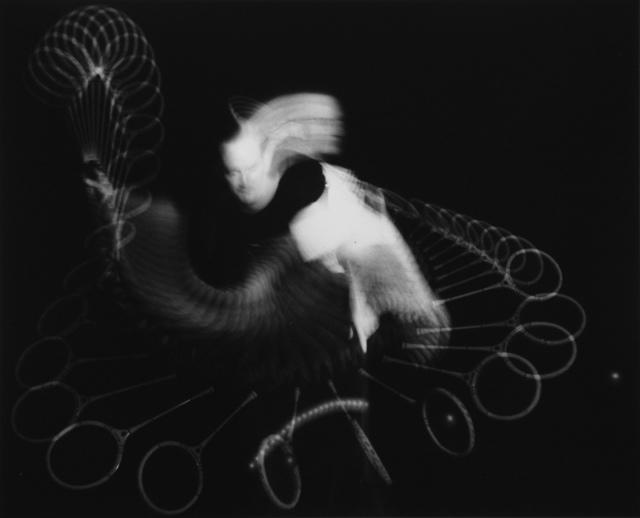 Dr. Harold Eugene Edgerton, 'Squash Stroke', 1954, Etherton Gallery