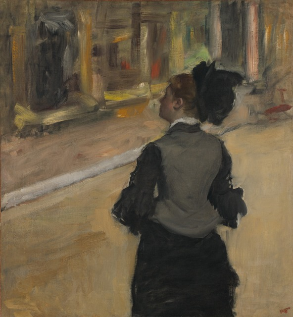 Edgar Degas, 'Woman Viewed from Behind', National Gallery of Art, Washington, D.C.