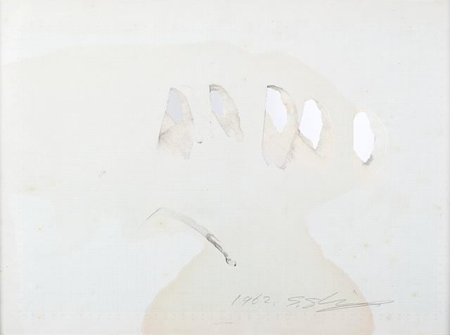 Shozo Shimamoto, 'Untitled - Esquisse Hole 8', 1962, Il Ponte