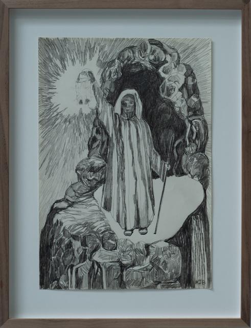 Meta Isaeus-Berlin, 'Eskapism, 2020', 2020, Painting, Pencil drawing, CFHILL