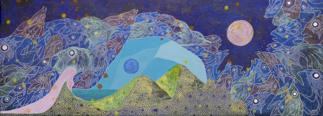 Miki Yokoyama, 'Moons 3', 2019, Disruptive Canvas