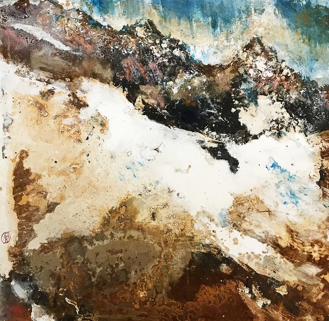 Alessandro Busci, 'Montagne neve e ruggine', 2018, Barbara Paci Art Gallery