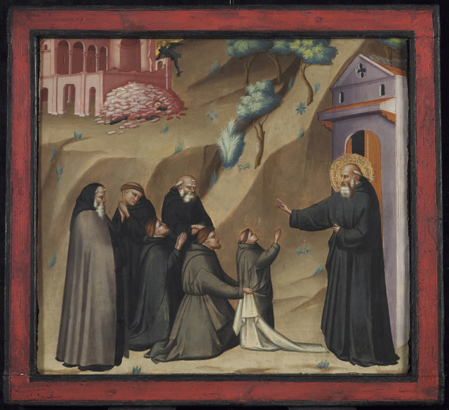 Giovanni del Biondo, 'St. Benedict Restores Life to a Young Monk', Late 14th century, Art Gallery of Ontario (AGO)
