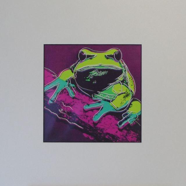 Andy Warhol, 'Frog', 1987, Print, Colour Offset Print, Art276