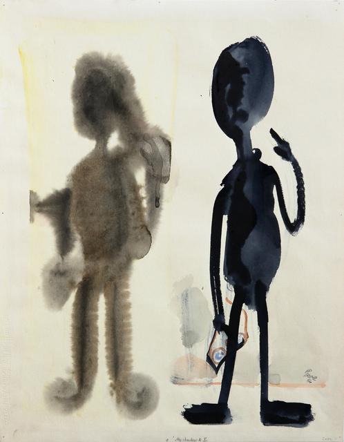 , 'My Shadow and I,' 1956, Tanya Leighton