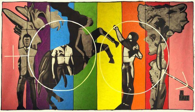 Vincent Corpet, '3539', 2010, Painting, Oil on canvas, Mazel Galerie