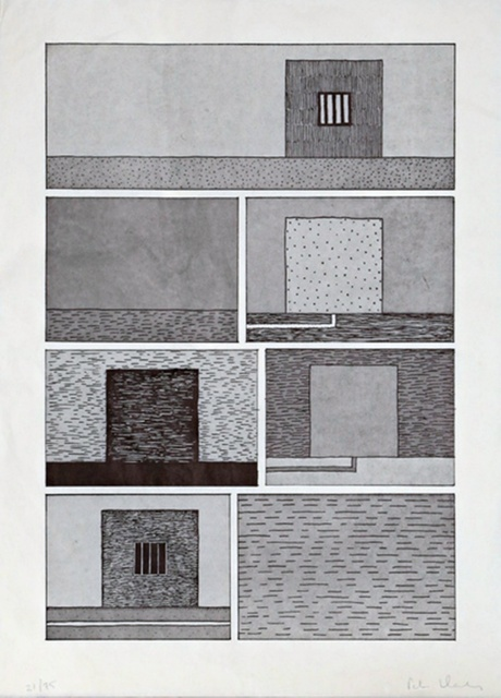 Peter Halley, 'Untitled for Brooklyn Academy of Music (BAM)', 1991, Alpha 137 Gallery Auction