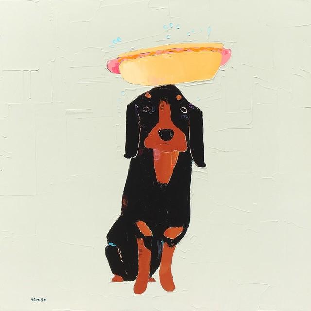 , 'Hot Dog,' 2018, Shain Gallery
