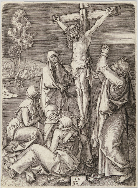 , 'CRUCIFIXION,' 1508, Christopher-Clark Fine Art