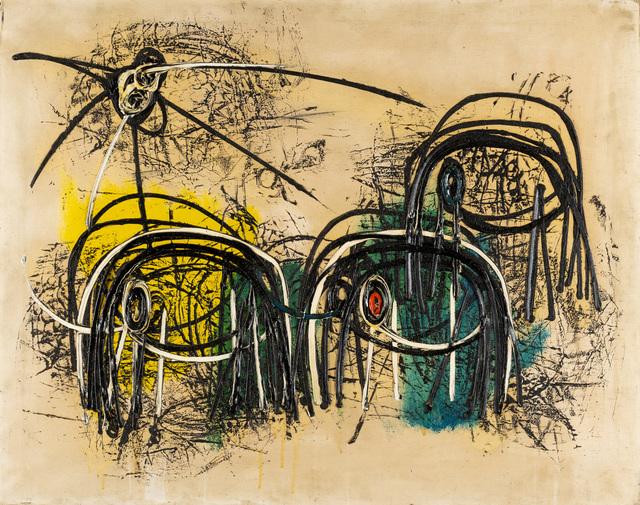Roberto Crippa, 'Migrazione', 1954, Painting, Oil on canvas, Martini Studio d'Arte