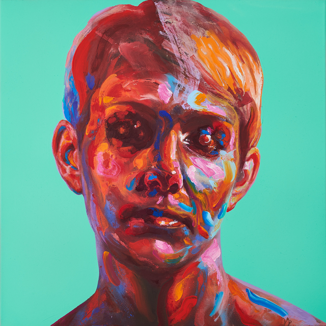, 'Lydia (Turquoise),' 2018, Black Book Gallery