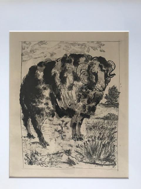 , 'Le Belier (The Ram),' 1936, Les Yeux du Monde Gallery