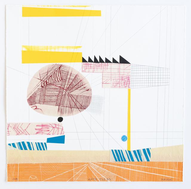 , 'Winter File 33,' 2019, David Krut Projects