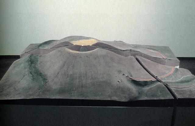 , 'Crater Modell in 3 Parts,' 1987, Häusler Contemporary