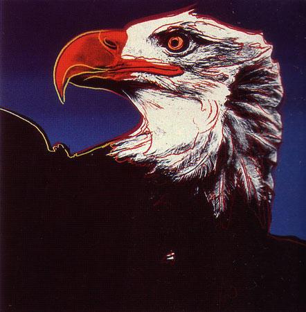 Andy Warhol, 'Endangered Species: Bald Eagle, II.296', 1983, Print, Screenprint on Lenox Museum Board, Upsilon Gallery