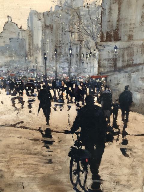Olivier Suire Verley, 'Paris on foot ', 2019, Addison Art Gallery