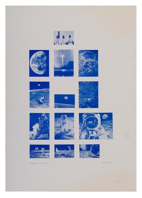 Stano Filko, 'Association XXXI. - 1st Flight - Moon', 1969, The Mayor Gallery
