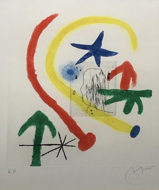 Joan Miró, 'Parapet Walk II', 1964, David Parker Gallery