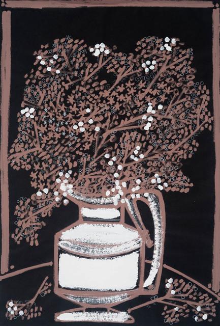 , 'A Vase Full of Babies Breath & Lady's Mantle,' 2018, JoAnne Artman Gallery