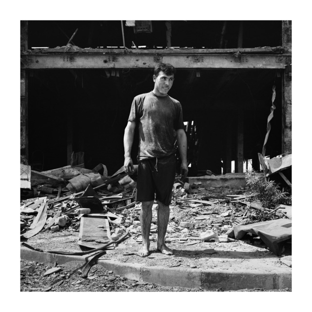 , 'Plumber, Baghdad, Iraq,' 2003, Galerie Julian Sander