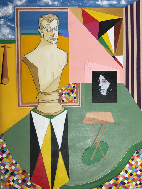 , 'Statue Self Portrait,' 2015, Imlay Gallery