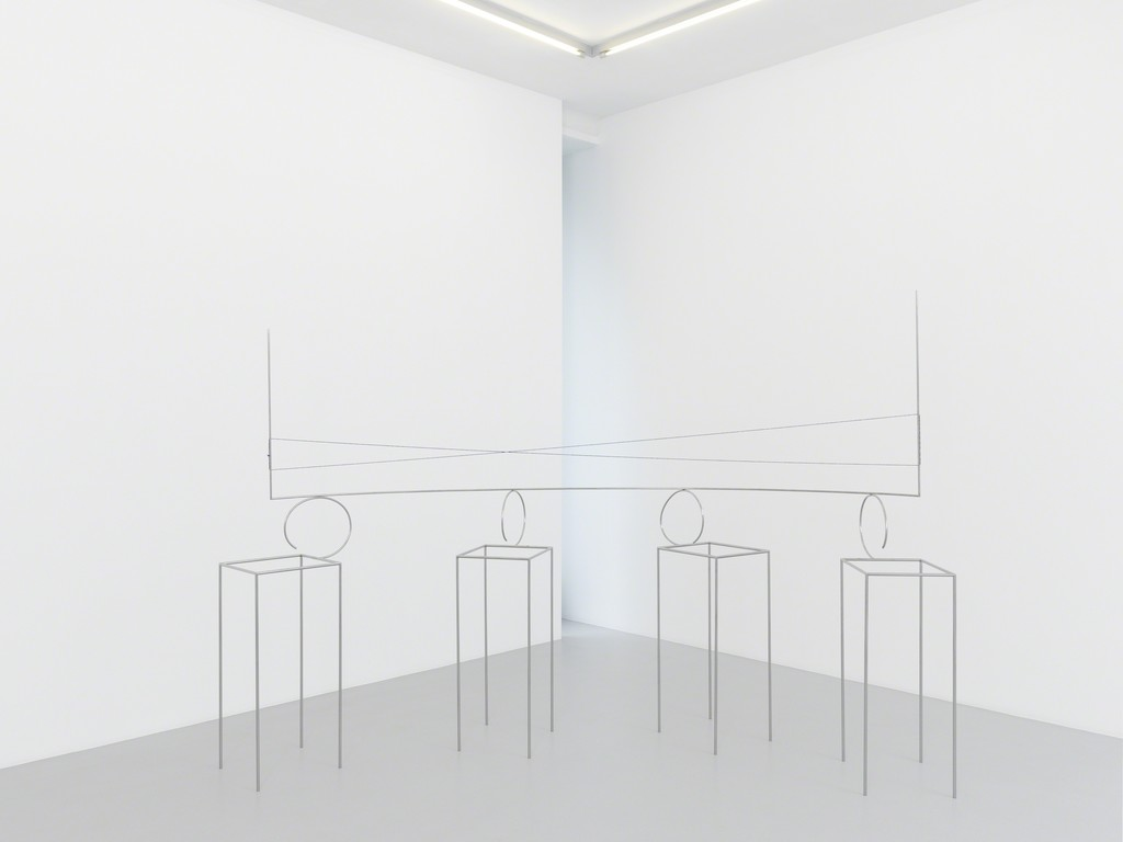Exhibition view, Waltercio Caldas, Xippas, Geneva, Switzerland, 2018 © Annik Wetter