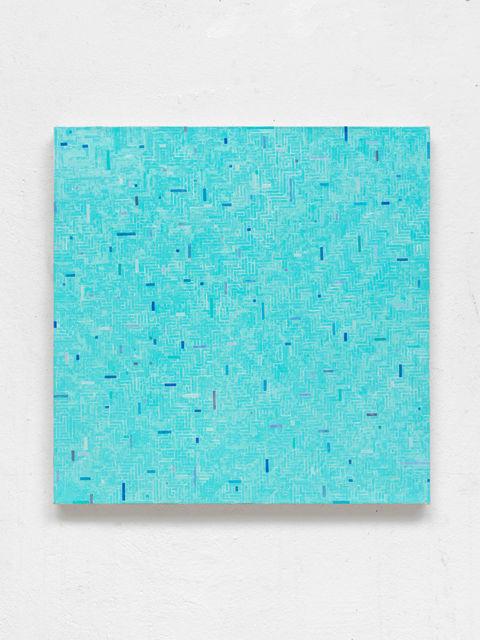 ", '""mäandern ins Blaue"",' 2016, Almine Rech Gallery"