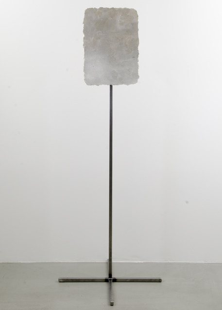 , 'Remnant Painting 2007-2013 (Lead White, Silver),' 2007-2013, Highlight Gallery