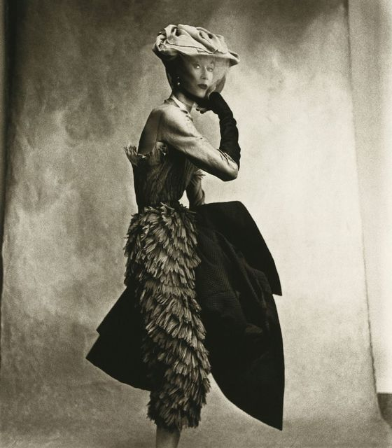 Irving Penn, 'Cocoa Dress (Balenciaga), Lisa Fonssagrives-Penn', 1950, Atlas Gallery