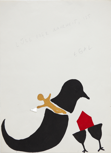 , 'Die Familie oder Freiheit – falsches Dilemma (The Family or Freedom - False Dilemma),' 1993, Aanant & Zoo