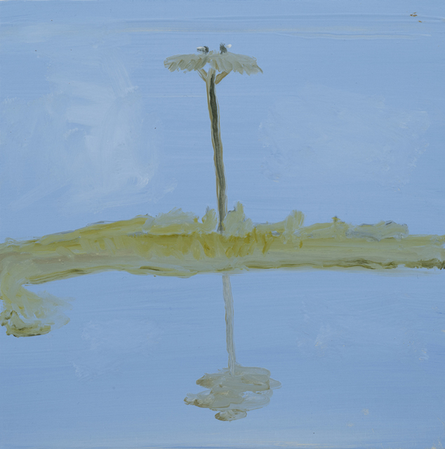 , 'Osprey Nest in Blue,' 2015, Sears-Peyton Gallery