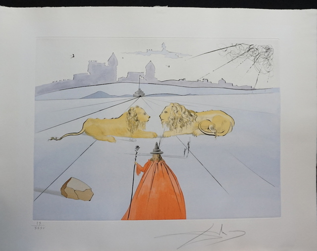 Salvador Dalí, '12 Tribes of Israel Judah', 1972, Fine Art Acquisitions