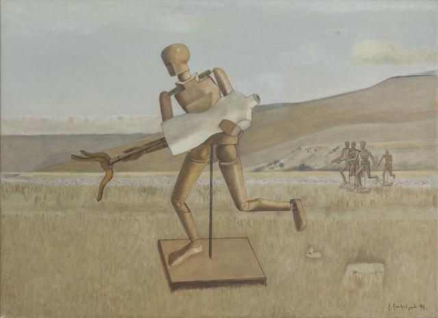 , 'Escape,' 1991, Tufenkian Fine Arts