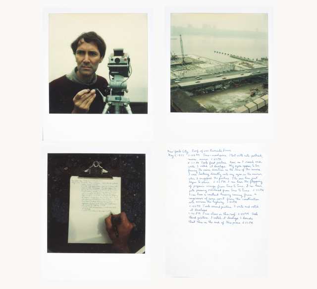, 'Without Title (roof top),' 1977, Galerie Jocelyn Wolff