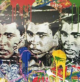 Mr. Brainwash, 'Legend Forever (Muhammad Ali)', 2016, Robin Rile Fine Art