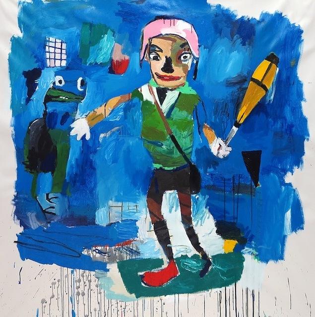 , 'Blue Marmalade,' , g.gallery