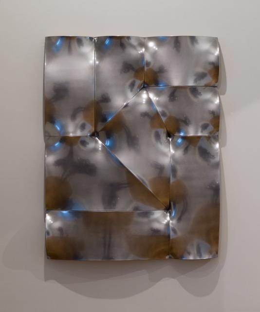 , 'Broken chrome pointing in,' 2016, Sebastian Fath Contemporary