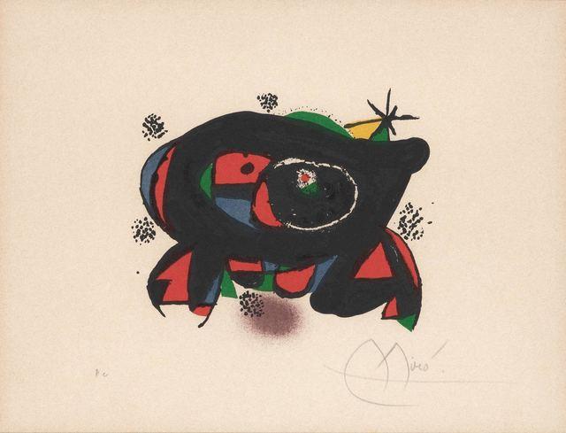 Joan Miró, 'La Rana (M. 1177)', 1978, Doyle
