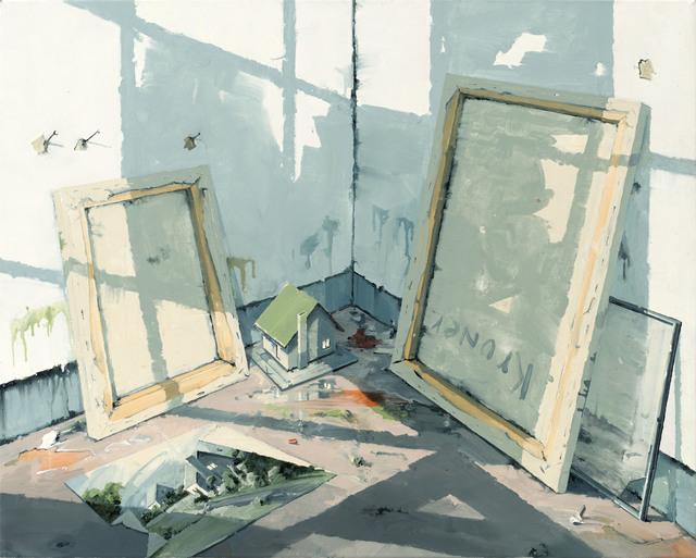 , 'Atelierecke,' 2016, Galerie Jochen Hempel