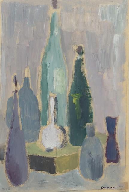 Werner Drewes, 'Still Life with Bottles', 1963, William Havu Gallery