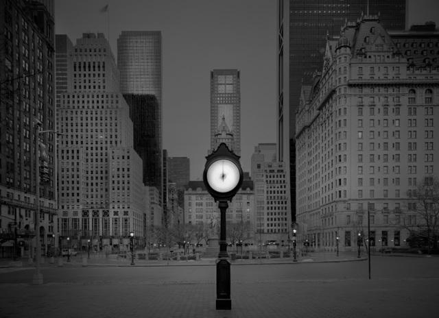 , 'Clock Installation - Deep In A Dream - Central Park,' 2016, Holden Luntz Gallery